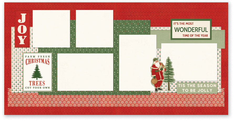 FFC511-Tis the Season Two Page Kit