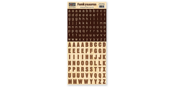 FS205- Alphabet Accessory Sheet