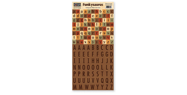 FS206-Color Alphabet Accessory Sheet