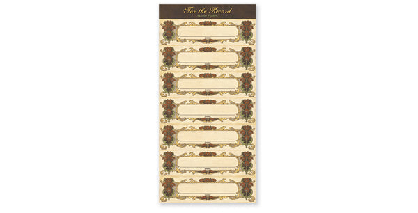 FTR202-Small Name Tags Accessory Sheet