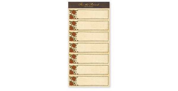 FTR205-Rose Tags Accessory Sheet