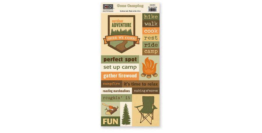 GC201- Set Up Camp Accessory Sheet