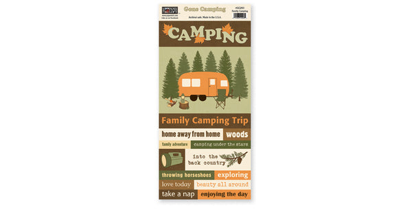 GC203- Family Camping Accessory Sheet
