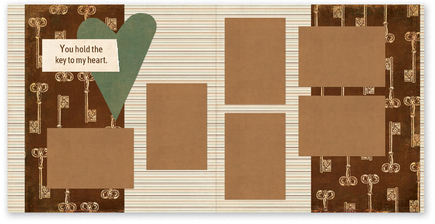 GMA507-My Heart Two Page Kit