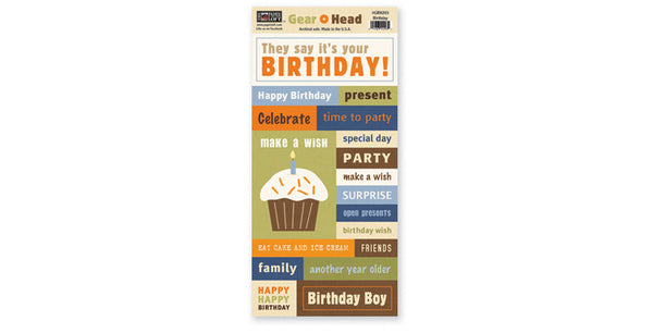 GRH203-Birthday Accessory Sheet
