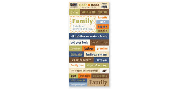 GRH204-Family Accessory Sheet