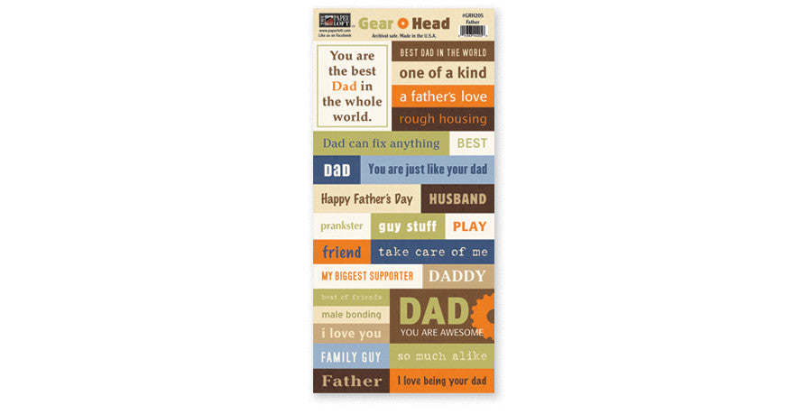 GRH205-Father Accessory Sheet