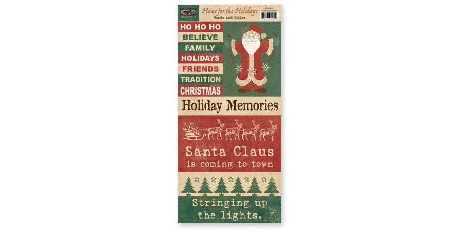 HH204- Holiday Memories Accessory Sheet