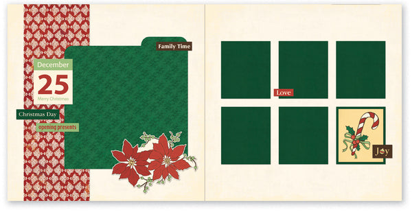 HJC523 - Christmas Day Page Kit
