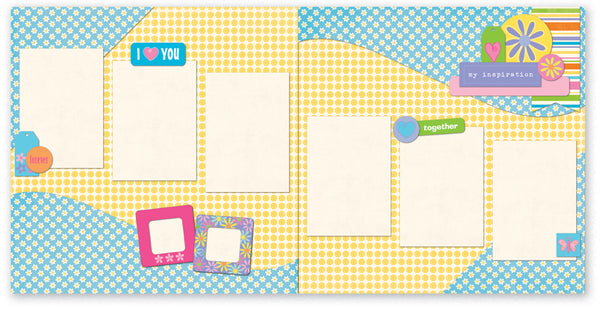 IFB507- I Love You Page Kit