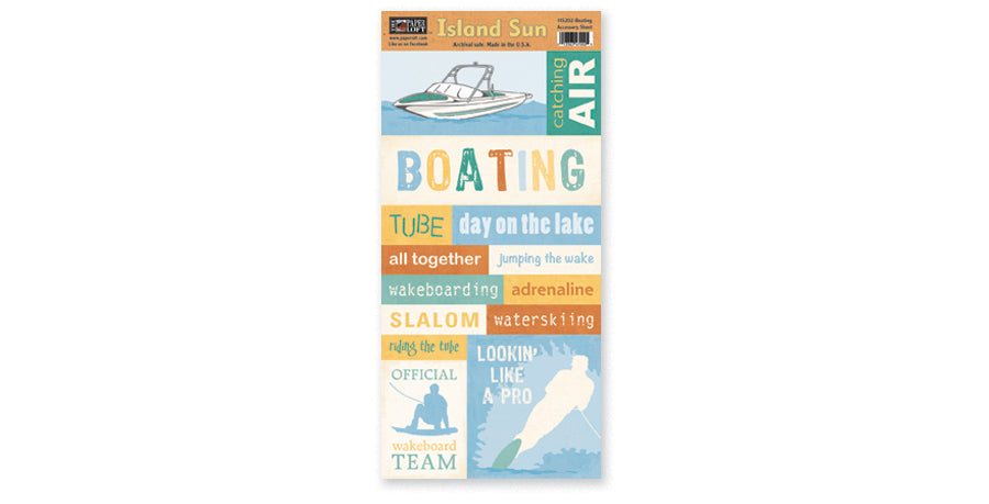 IS202- Boating Accessory Sheet