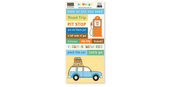 ONT201- Road Trip Accessory Sheet