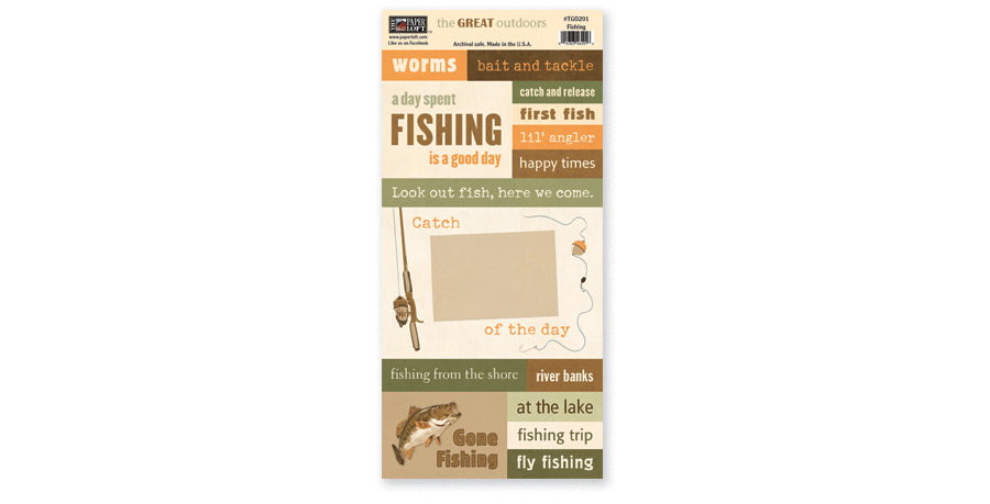 TGO201- Fishing Accessory Sheet