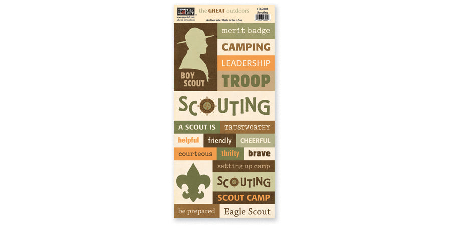 TGO204- Scouting Accessory Sheet
