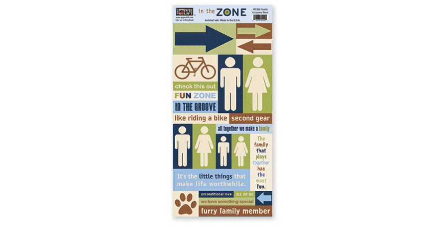 TZ202- Family Accessory Sheet