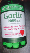 Nature's Bounty Garlic, 2000mg, 120 Coated Tablets