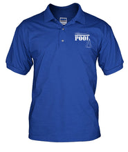 POOL Retro logo polo by Max Eberle Men's Polo - cuemax