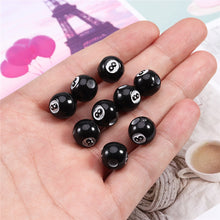 8-BALL BEADS for DYI JEWELRY w/Free Shipping Anywhere