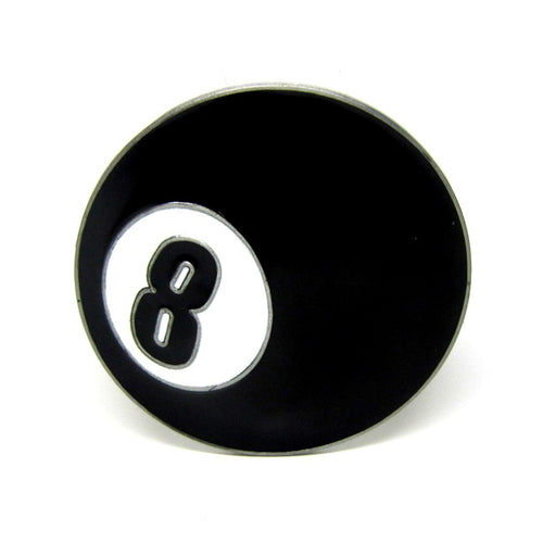 8-Ball Belt Buckle! - cuemax