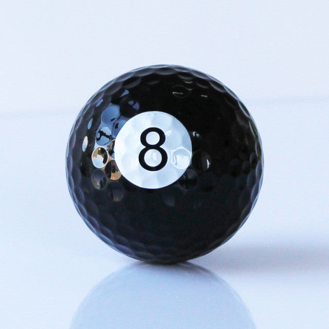 8-Ball Golf Ball 6/balls with order - cuemax