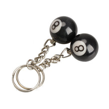 8-Ball Keychain (2 Pieces) - cuemax