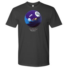 """FOUR BALL STORY"" artwork by Max Eberle, men's tshirt"