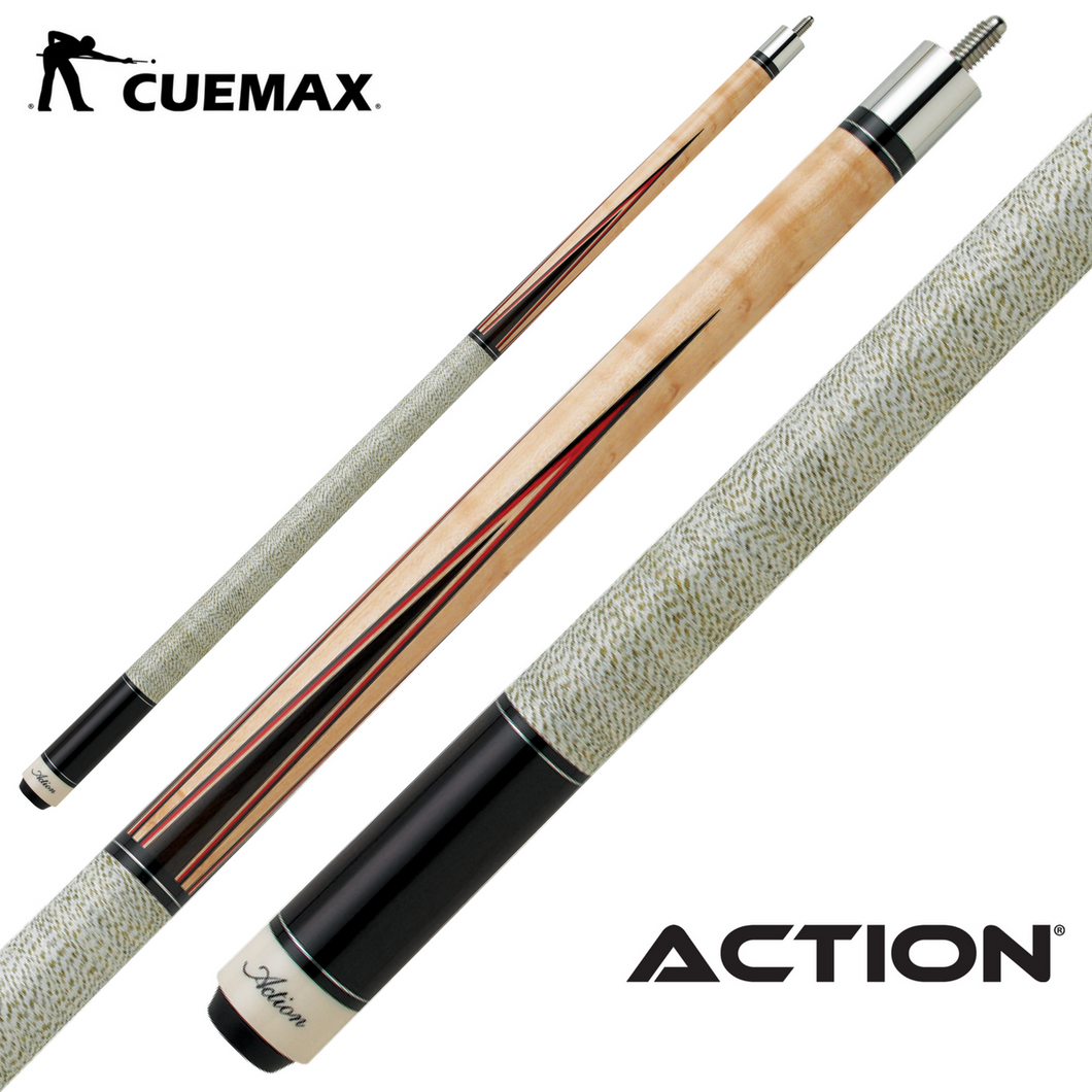 Action Inlay INL12 Pool Cue - cuemax