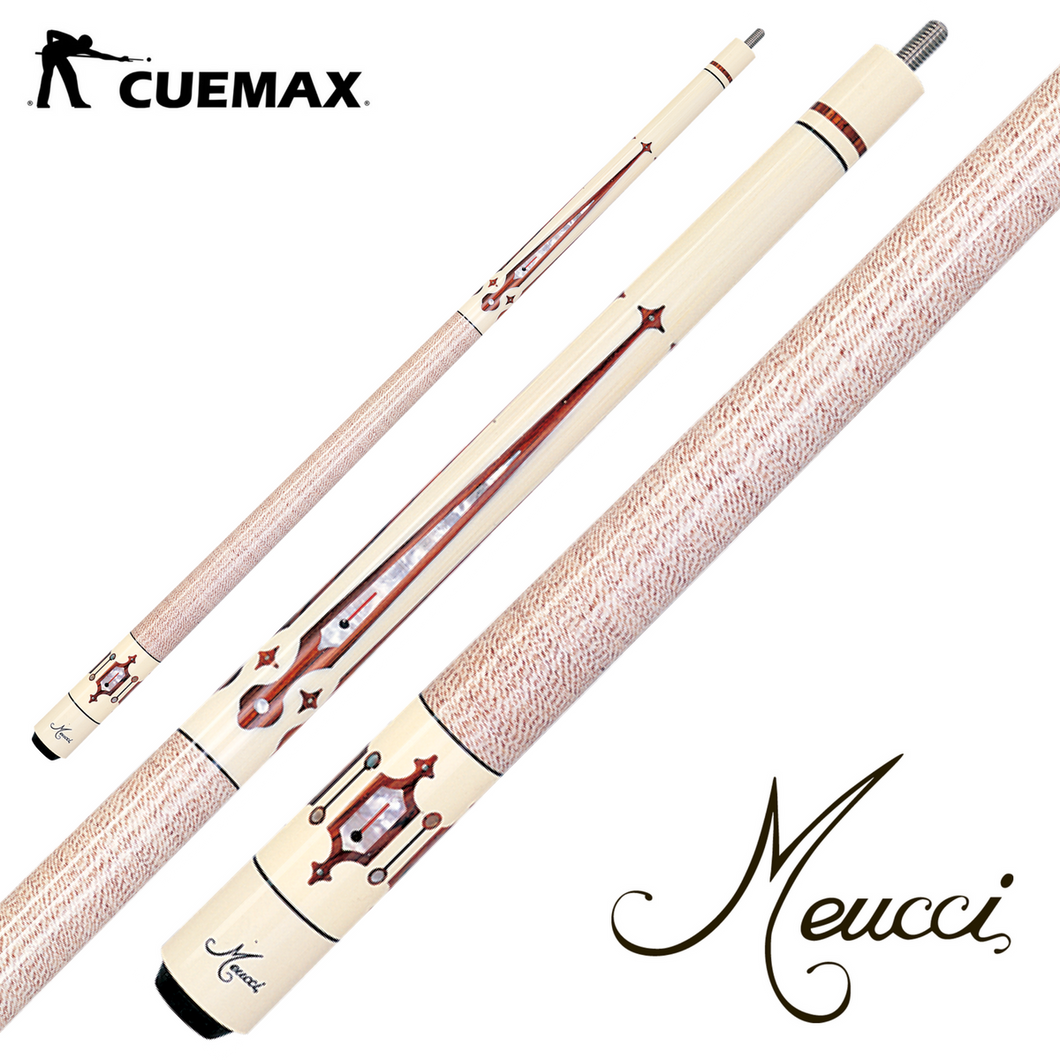 Meucci Power Piston MEP04BD Pool Cue - cuemax