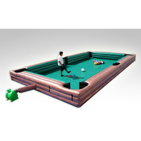 Inflatable Pool / Snooker Table For Your Lawn   Cuemax