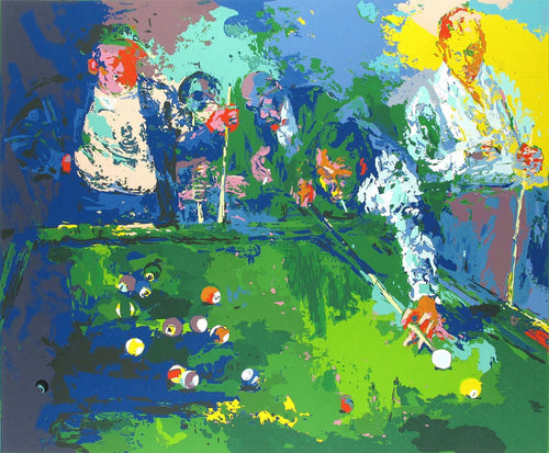 Action Game, Art by Leroy Neiman - cuemax