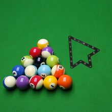 Six Pack of Magic Racks For 9-Ball & 10-Ball (3 Black & 3 White) - cuemax