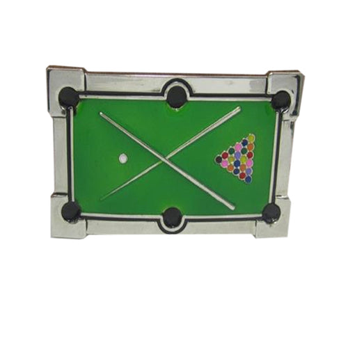 Pool Table Belt Buckle - cuemax