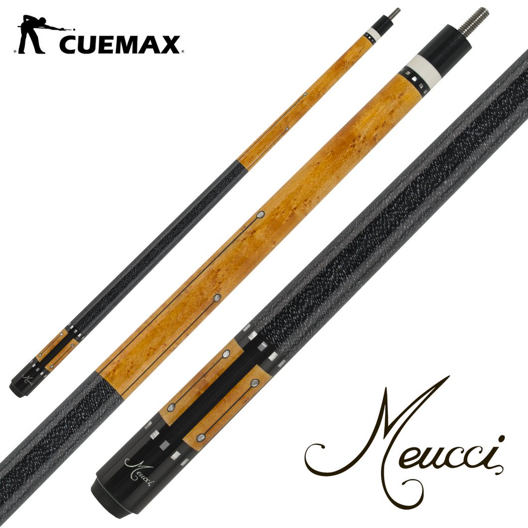 Meucci RB MERB05K Pool Cue w/PRO SHAFT - cuemax