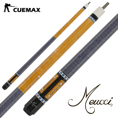 Meucci MERB05L Pool Cue w/THE PRO SHAFT - cuemax