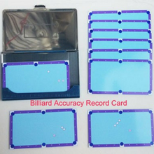 Pool Table Shot Cards - cuemax