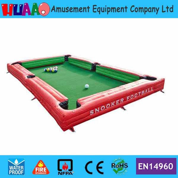 Bon ... Inflatable Pool / Snooker Table For Your Lawn   Cuemax ...