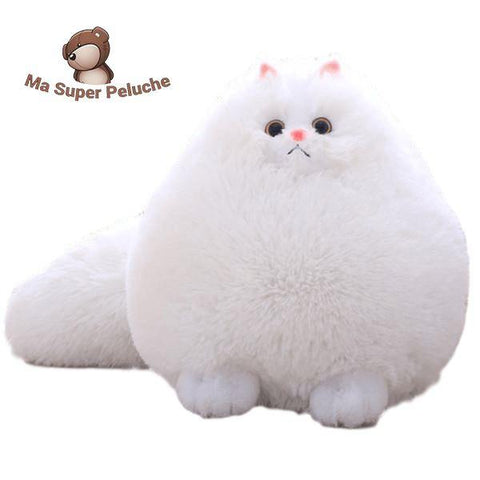 chat bouffi - ma super peluche