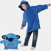 Ma Super Peluche Vêtements bébé Bleu / 80cm Sweat Plaid enfant Pet Hoodie