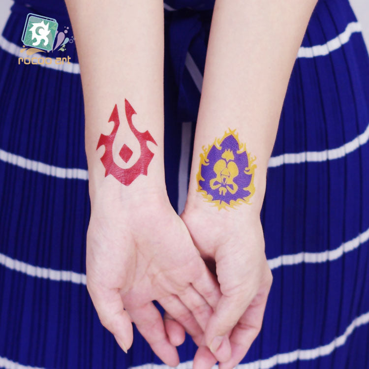 Wowhorde Alliance Temporary Tattoos Kids Will Love Them R0gue