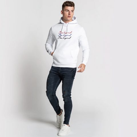 Bee Inspired Anderton Hoodie - White