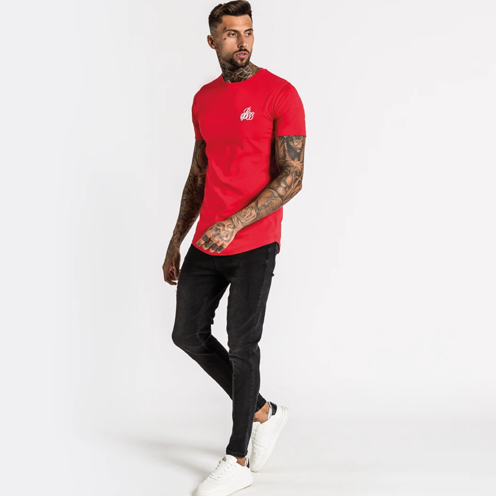 Bee Inspired Signature tee red