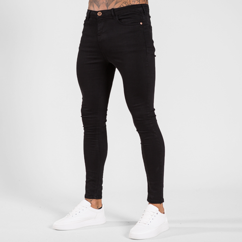 Bee Inspired Luca Skinny Stretch Jeans - Signature Jet Black