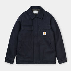 Carhartt WIP Wool Arctic Coat Dark Navy