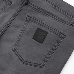 Carhartt Wip Rebel Pant Black Worn Bleached