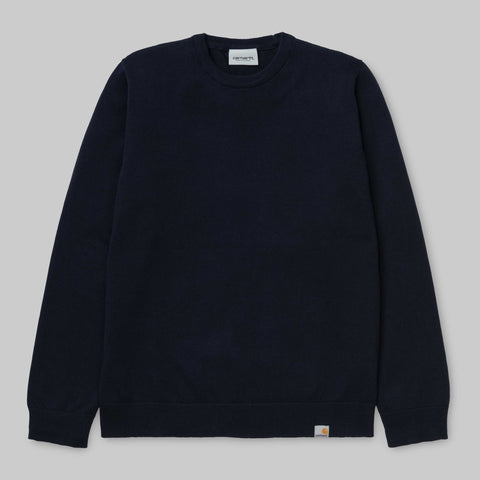 Carhartt WIP Playoff Sweater Dark Navy