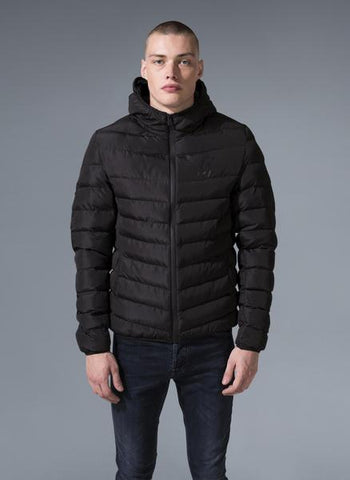GK Core Puffa Jacket - Black