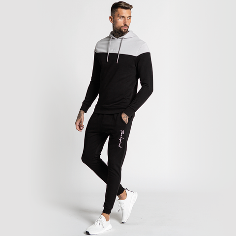 Bee Inspirfed Klass Hoodie - Light Grey Black