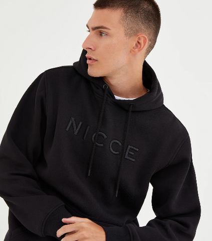 NICCE Mens Mercury Original Hood  Black