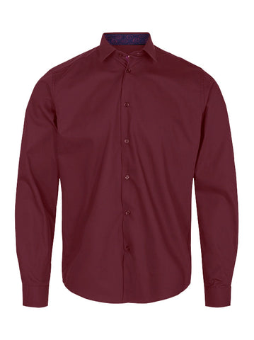 Tailored Originals Gene Shirt Wine