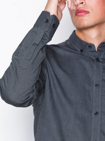 Tailored Originals New london shirt Black Mel